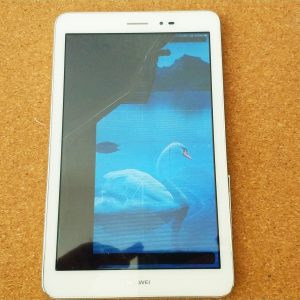 Pred výmenou LCD Huawei Tab
