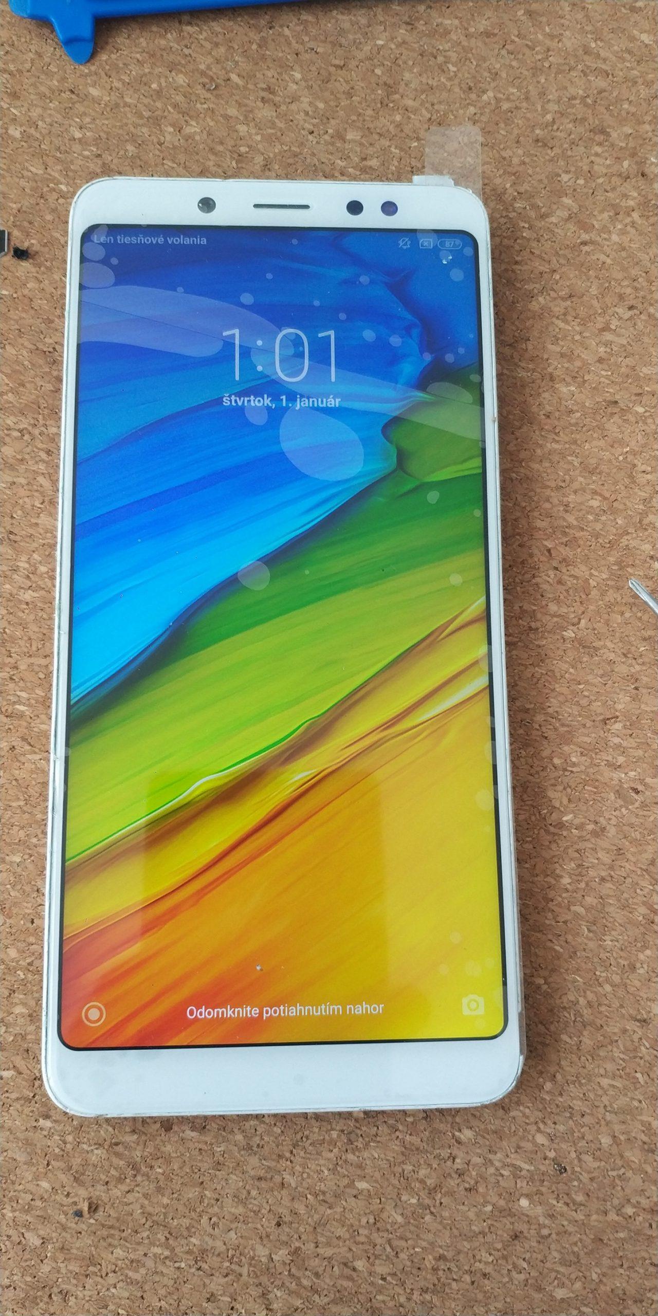 Po výmene LCD Xiaomi